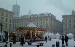 Firenze sempre imbiancata negli ultimi inverni. Quest'anno ancora non è successo. Domani potrebbe accadere