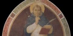 Museo di San Marco, Chiostro di Sant'Antonino, lato ovest, Beato Angelico, lunetta con San Pietro Martire, dopo il restauro
