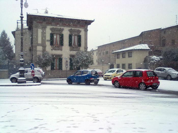 Pericolo neve in Toscana