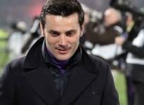 Il sorriso di Vincenzo Montella dopo il pareggio di Torino