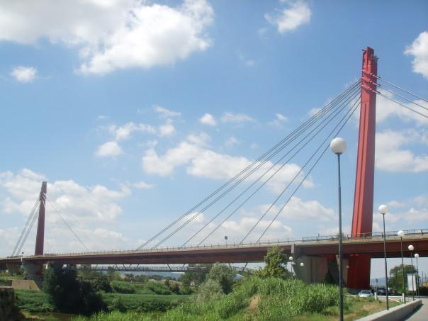 Un'immagine del Ponte all'Indiano