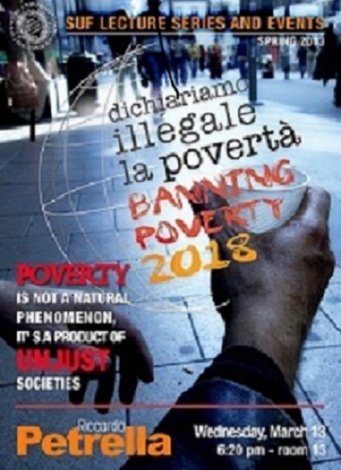 L'iniziativa Banning the poverty della Syracuse University in Florence