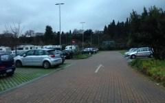 Il parcheggio Salviati abbandonato al suo destino