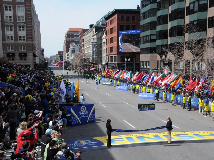 Boston Marathon 2013 (Courtesy Ross Photographer Boston Mass.)