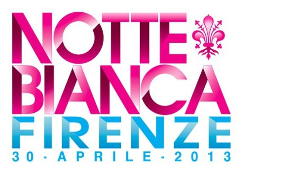 Il logo della Notte bianca 2013