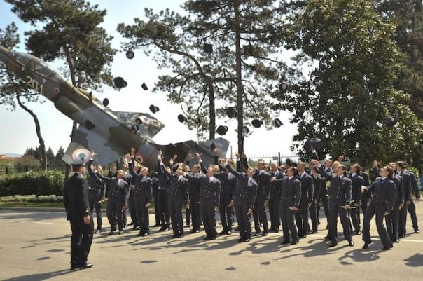 """Allievi della scuola militare aeronautica """"Douhet"""" di Firenze"""