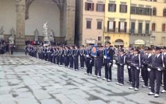 Il giuramento in piazza Signoria