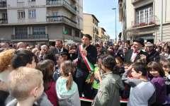 San Jacopino festeggia la nuova piazza, anche se in ritardo
