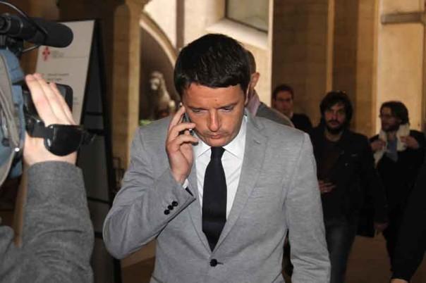 Matte Renzi si avvia verso l'incontro con Massimo D'Alema
