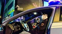 Servizi notturni di controllo della Polizia