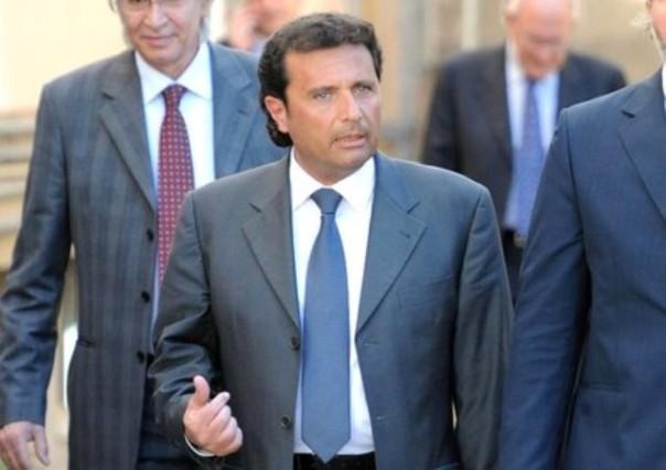 L'ex comandante Francesco Schettino all'udienza preliminare di Grosseto
