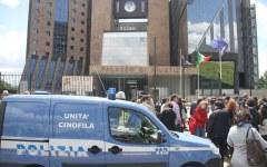 Falso allarme bomba al Tribunale di Firenze. Un sospetto portato in Questura (FOTO)