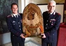 Il capitano Christian Costantini e il luogotenente Sauro Bertinelli