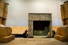 L'allestimento scenografico dell'Aida per l'edizione 2011 del Maggio