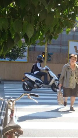 Nei pressi di piazza Beccaria
