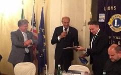 Il premio Melvin Jones del Lions alla Misericordia di Firenze