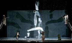 Una scena di Die Walküre di Wagner nell'allestimento del 2007