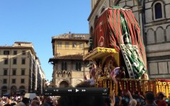 Il Festival del carro a Firenze per il Ratha Yatra 2013 (VIDEO)