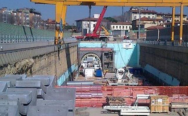 La talpa, fresa per il sottoattraversamento ferroviario fiorentino, è stata dissequestrata