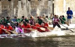 Dragon boat: sfida in Arno a colpi di pagaia