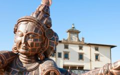 Zhang Huang, l'anima e la materia incantano Palazzo Vecchio e Forte Belvedere