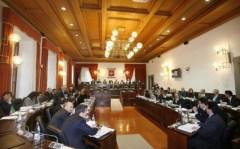 Il Consiglio regionale della Toscana che ha approvato il Pit