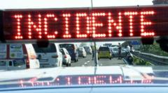 Due incidenti in A1 tra Firenze e Bologna