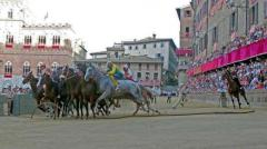Palio di Siena del 2 luglio dedicato alla Madonna di Provenzano