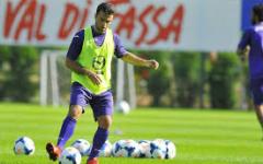 Fiorentina, a Moena è subito show di Rossi e Ljajic