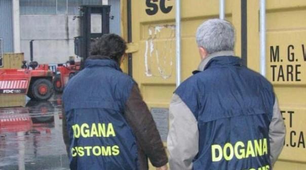 I funzionari delle Dogane e la Gdf hanno permesso il sequestro