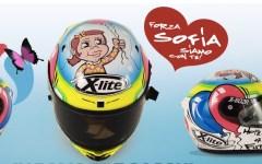 All'asta tre caschi «Forza Sofia» per la Stamina Foundation