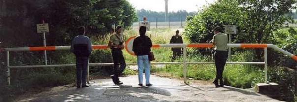 Il parco dove è stato trovato il corpo della tedesca 29enne, residente nel livornese