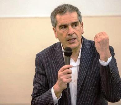 Il sindaco di Siena, Bruno Valentini