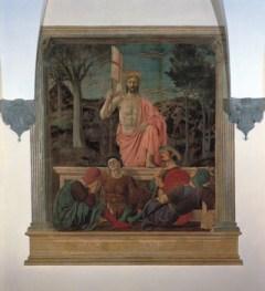 La «Resurrezione» di Piero della Francesca