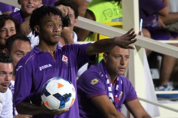Cuadrado vuole che la Fiorentina lo lasci libero