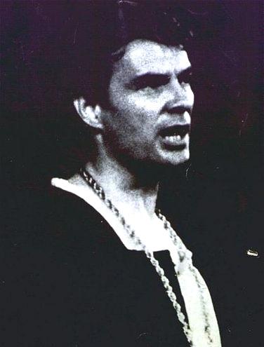 Giorgio Albertazzi in Amleto nel 1964