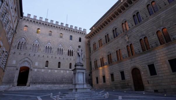 La banca Mps a Siena