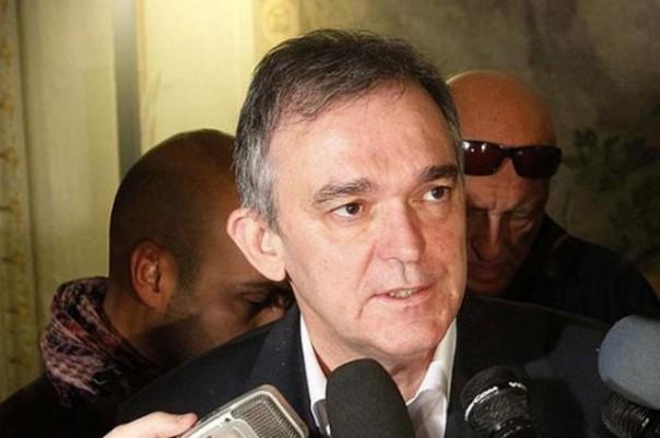 Il presidente della Regione Toscana Enrico Rossi soddisfatto dei Mondiali di ciclismo