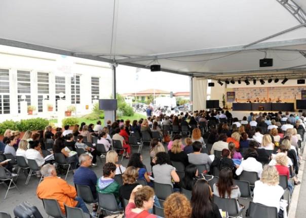 Una delle recenti edizioni del Festival della Salute