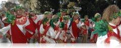 Sfilata estiva per il Carnevale di Viareggio