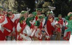 A Viareggio notte di Ferragosto con il Carnevale