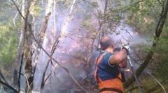 Incendio divampato a Cavriglia nell'aretino