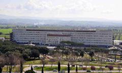Gli ispettori del ministero arrivati all'ospedale di Grosseto