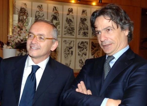 Antonio Vigni e Giuseppe Mussari, ex vertici Mps