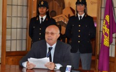 Il questore Zonno lascia Firenze:«Ottimo rapporto con la città»