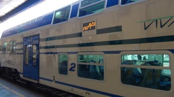 Il nuovo treno Vivalto in servizio in Toscana