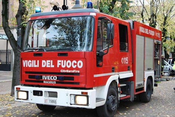Incendio alla sede di Fidi Toscana