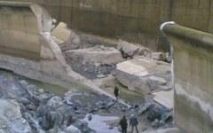 Guasto diga di Montedoglio, materiale di costruzione scarso