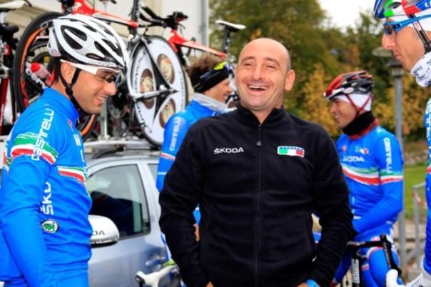Il ct della Nazionale di ciclismo Paolo Bettini