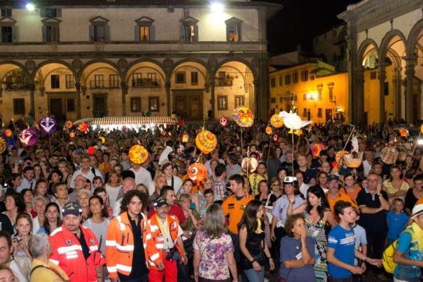 La Rificolona 2012 in piazza Santissima Annunziata